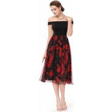c23dd1eafbc Alisa Pan dámské midi šaty typu Carmen černá