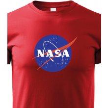 c5e3bc388b Bezvatriko.cz Pánské tričko s potiskem NASA červená