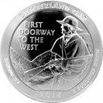 America the Beautiful Stříbrná investiční mince Kentucky 5 Oz 2016