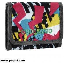 CoocaZoo Peněženka CashDash Checkered Bolts