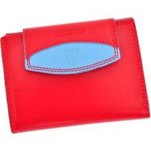 Harvey Miller Polo Club COL8 PL08 dámská kožená peněženka červená