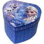 Mix hračky Šperkovnice dětská modrá srdce se zrcátkem Frozen Ledové Království dle obrázku