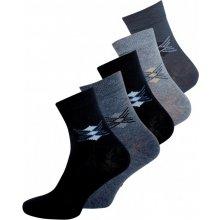Evona 5 PACK pánských vzorovaných ponožek 5056 - 5 023