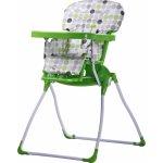 Caretero Jídelní židlička Practico Green