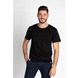 CityZen bavlněné chytré triko proti pocení kulatý výstřih černé