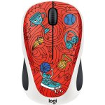 Logitech M238 Wireless Mouse Doodle Collection 910-005054