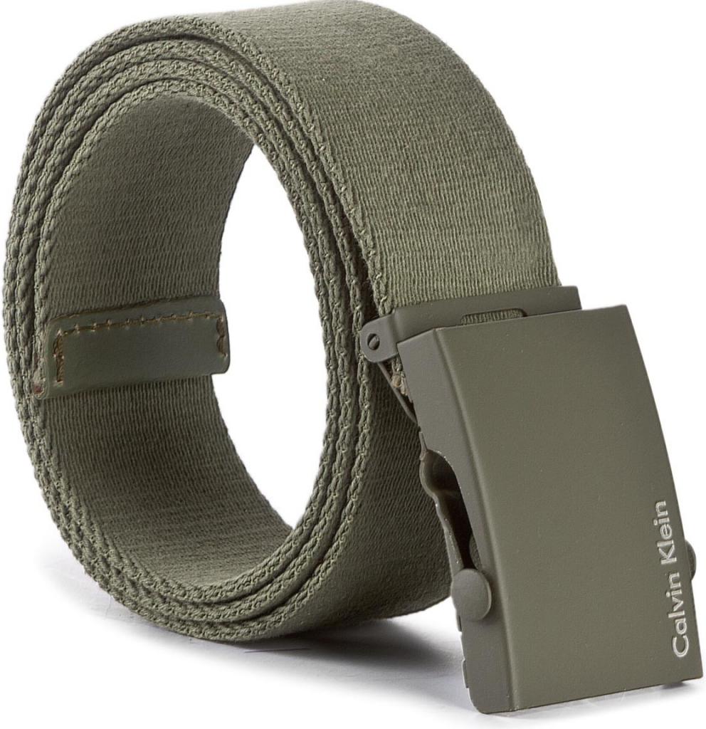 61b019757b76 Calvin Klein Pánský pásek BLACK LABEL - Canvas Adj Plaque Belt K50K500972  313 od 832 Kč - Heureka.cz