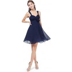 6c415185b4fa Ever Pretty šifonové šaty krátké 3266 tmavě modrá od 1 290 Kč ...