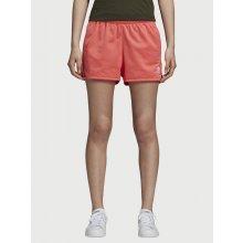 Kraťasy Adidas Originals 3 Stripes Short červená 00bd197fee