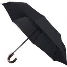 SAMSONITE Deštník Wood Classic skládací s dřevěnou holí O/C černý (F86-09013)