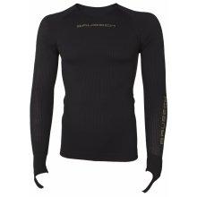 Brubeck Mens Base Layer long sleeve black shirt