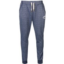 Lonsdale Marl Closed Hem Jogging Pants Mens Blue