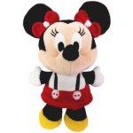 Plyšová Minnie 10 cm bíločervené šatičky