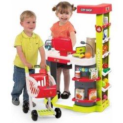 745bcef1c Smoby Role Play Obchod City Shop červeno-zelený od 1 490 Kč - Heureka.cz