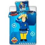 Faro povlečení Požárník Sam 008 100x135 cm 40x60 cm