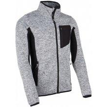Kilpi Pánská fleecová mikina RIGAN-M tmavě šedá 3dc3d0af1a7