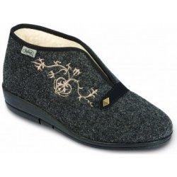 bačkory papuče důchodky Befado 031D028 teplé vyšší šedé 3eb7c6a6c5