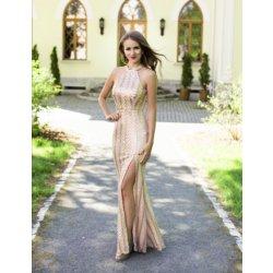 635761d92f52 Dámské společenské šaty s flitry Karen zlatá od 2 299 Kč - Heureka.cz