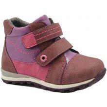 Bugga B00136-03 boty dívčí zateplené růžová