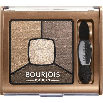 Bourjois Smoky Stories Quad Eye shadow Palette 6 Upside Brown 3,2 g