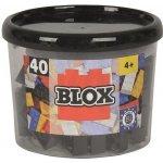 Simba Blox 40 Kostičky černé v boxu