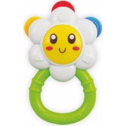 Baby Mix chrastítko květinka