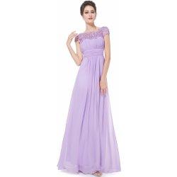 68ea42ffdb3 Ever Pretty plesové šaty s krajkou 9993 fialová od 1 790 Kč - Heureka.cz