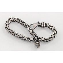 ThajskoSilvermanufacture stříbrný náramek AGNAR630030