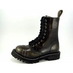 Steel boty 10 dírkové bílé černé od 1 799 Kč - Heureka.cz 963eaa7009