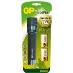 GP Batteries LED svítilna GP LOE404 + 2 x D baterie GP Ultra
