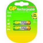 Baterie GP AAA 1000mAh 2ks