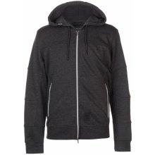 Crosshatch Full Zip jacket pánská charcoal Marl
