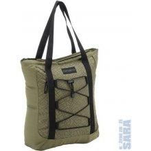 Látková taška na zip 44287 khaki s potiskem, Samsonite