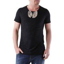 525 Pánské tričko Černá