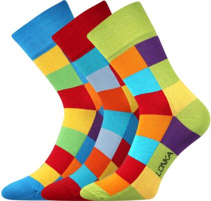 20f7b24f1b8 Lonka ponožky Decube mix A balení 3 páry