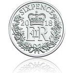 Česká mincovna Stříbrná mince Vánoční šestipence UK 2018 stand 3,35 g