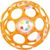 Bright Starts OBALL RATTLE 10cm oranžové