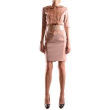 Elisabetta franchi dámské šaty Woman Dress běžová 7e8d186814