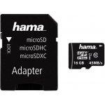 Hama microSDHC 16GB adaptér 114992