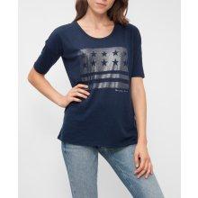 Tommy Hilfiger Dámské tričko tmavě modré 12ee71a5fc