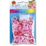 Rubber Loops MIX růžové 500ks gumiček