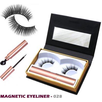 Fair Lashes magnetický set 028 magnetické řasy s magnetickou oční linkou