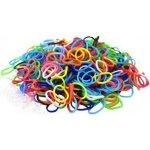 Loom Bands gumičky 200ks - barevný neonový mix