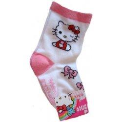 972b22da05f Dětské baby ponožky Hello Kitty pro holky bílé od 40 Kč - Heureka.cz