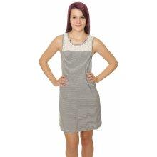 14de7fef91a5 Roxy šaty What Lovers Do KVJ4 anthracite Cosy Stripes