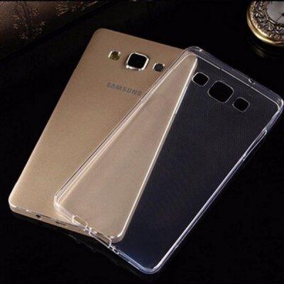 Pouzdro SES Silikonové Samsung Galaxy A5 A500F - čiré