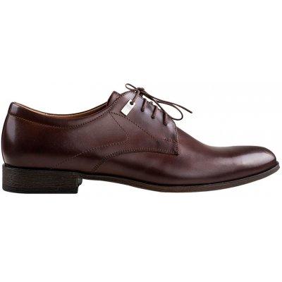 společenské boty Giorgio tmavě hnědé