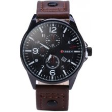 Curren Classic Leather Brown