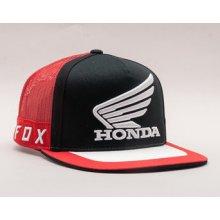 FOX Fox Honda Black Red Snapback černá   červená   černá 33ae8d0ef7