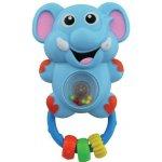 Baby Mix chrastítko se zvukem slon